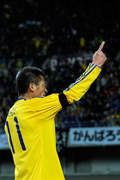 "Kazuyoshi MIURA ""SAMURAI BLUE vs J.LEAGUE TEAM AS ONE"""