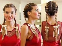 festa junina, cabelo - the ribbon makes it!