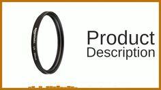 AmazonBasics 58 mm UV Protection Lens Filter