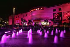 We light up Ambience Mall in New Delhi pink for Breast Cancer Awareness 2013