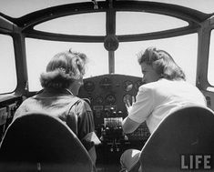 Girl Pilots: photos by Peter Stackpoile for Life Magazine in 1943.