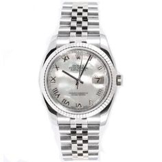 Rolex Mens New Style Heavy Band Stainless Steel Datejust Model 116234 Jubilee Band 18K White Gold Fluted Bezel Mother Of Pearl Roman Dial: http://watches.cybermarket24.com/rolex-mens-new-style-heavy-band-stainless-steel-datejust-model-116234-jubilee-band-18k-white-gold-fluted-bezel-mother-of-pearl-roman-dial/