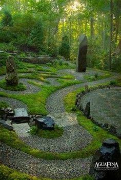 Spiritual Garden #walkingmeditation