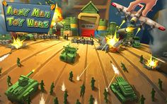 If you have the mentality to lead and command then Army Man- Toy Wars is than suitable for you. It is strategically a war game. In the base attack and defense war game commanding your troops gives intense strategy action.