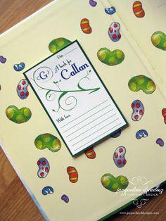 Jacqueline Dziadosz, Invitations & Design: Baby Shower Bookmarks and Bookplates