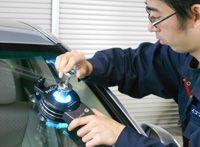 自動車ガラス イコマ北海道株式会社 飛び石キズ修理 飛び石 修理 ガラス