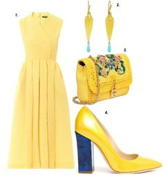 LoppStyle Wardrobe Inspiration: Yellow is the New Black