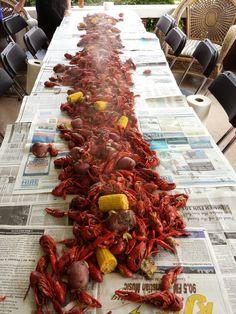 Boil @ TCU #geauxfrogs Crawfish Season, Seafood, Backyard, Sea Food, Patio, Backyards, Seafood Dishes