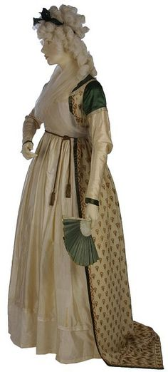 Old Rags - Robe, ca 1797 England, the Victoria & Albert...