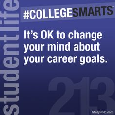 Check out all the college smarts at collegesmarts.tumblr.com