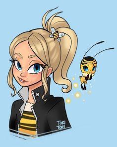 The Queen Bee #miraculousladybugandcatnoir #miraculousladybug #miraculers #beekwami #beemiraculous