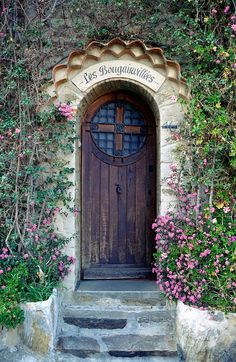 would love to see what's beyond this beautiful, weathered door in France