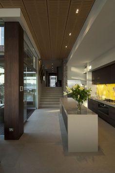 Modern waterfront property in Australia: House Vaucluse by Bruce Stafford Architects Contemporary Interior, Modern Interior Design, Modern Decor, Interior Architecture, Contemporary Architecture, Exterior Design, Interior And Exterior, Australia House, Sydney Australia