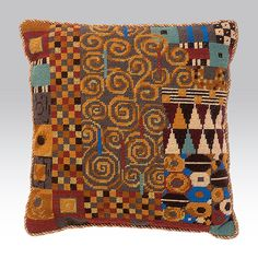 Klimt: Taupe By Candace Bahouth, Ehrman wools, http://www.ehrmantapestry.com/Products/Klimt--Taupe__KLT.aspx#.UUOdjleZFLo