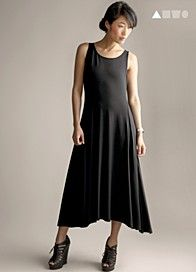 i have an eileen fisher gift card...just might need this dress right now!