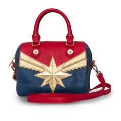 Loungefly x Marvel Captain Marvel Duffle Bag - Marvel - Brands