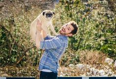 He also added that the ultimate takeaway is for people not to sweat the holiday too much. | This Guy Made His Pug His Valentine In An Adorable Photo Shoot
