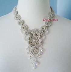 Irish Crochet Lace Jewelry