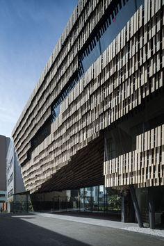 Daiwa Ubiquitous Computing Research Building - Kengo Kuma & Associates