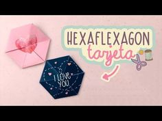 CUTE MAGIC CARD - STEP BY STEP HEXAFLEXAGON - DIY TUTORIAL - YouTube