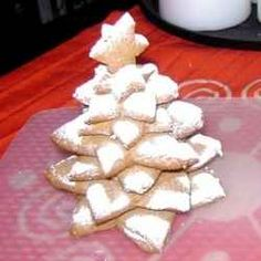 One new Christmas tradition that I'd like to start with my family is making a Christmas Cookie Tree or an edible tree made from series of stacked...