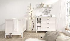 Wellemöbel Babyzimmer Lumio Kiefer massiv weiß online kaufen auf moebel-mit.de