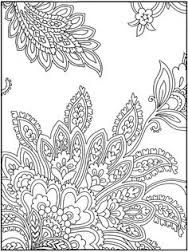 Paisley Coloring Pages for Adults | colouring sheets patterns printable colouring sheets patterns ...