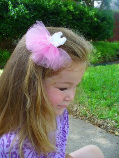 Ballerina Hair Clippie