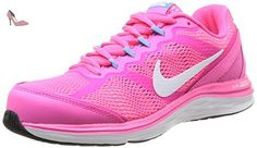 Nike Dual Fusion Run 3, Chaussures de running femme - Multicolore (Pink/White/Blu), 41 EU - Chaussures nike (*Partner-Link)