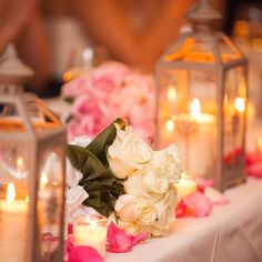 A placed Bridal Bouquet adds elegance to the table setting. photo: www.eyecontact.ca