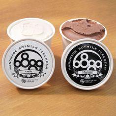 豆乳アイスクリーム6889cafe(ロクハチハチキュウカフェ)