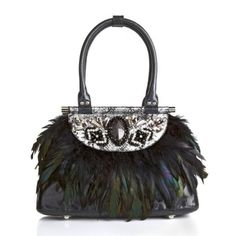 Sharif Jeweled Metallic Satchel in Oz Collection 2013 from HSN on shop.CatalogSpree.com, my personal digital mall.