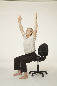 Yoga for Beginners: You can do easy chair yoga, office yoga - anywhere, anytime!