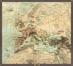 Europe in 600 (site takes you to more maps! Oh the map porn!)
