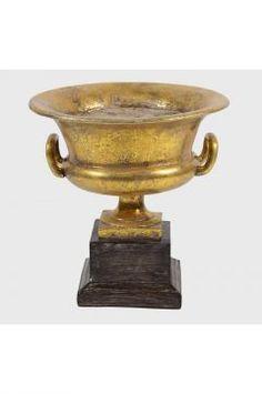 DesenHome Varak Kulplu Vazo 26 cm
