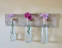 Wine Bottle Wall Vase2 copy