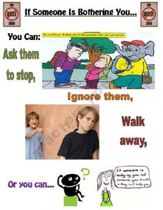 What to do if someone is bullying you (Not a free product but a great idea)
