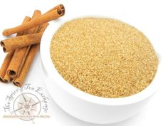 Cinnamon Sugar. Keep the classic cinnamon and sugar blend near the breakfast table! Use it on buttered toast, in coffee or hot cereal, on fresh fruit, and on muffins, cookies, or cakes. Contains: turbinado sugar, cinnamon (Vietnamese), pure cinnamon extract.