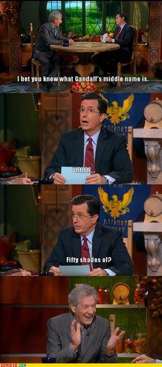 Oh Stephen, your wit always amazes me!