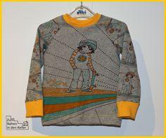skaterboy susalabim panel jersey raglanshirt klimperklein Zum Nähen in den Keller