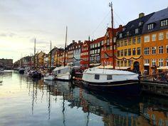 Nyhan Copenhagen // canal, europe, places, travel, wanderlust