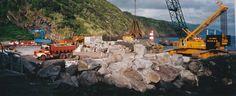 PORTO DA CALHETA: Construção Novo Cais (33)