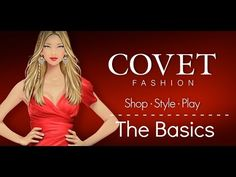 Covet Fashion: The Basics [Mobile Game] - YouTube