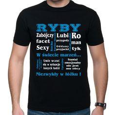 Ryby znak zodiaku Psp, Nice, Mens Tops, T Shirt, Supreme T Shirt, Tee Shirt, Nice France, Tee