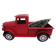 holiday decorative truck