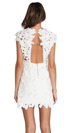 DOLCE VITA JAYLEEN DRESS WHITE $220- CALL SPLASH TO ORDER 314-721-6442