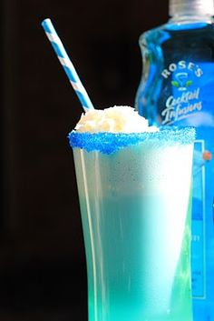 Blue Raspberry Italian Soda Recipe