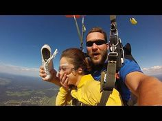 Skydiving: Wardrobe malfunction turns win!