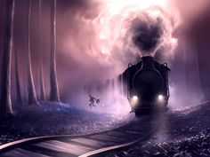 Train train quotidien by AquaSixio
