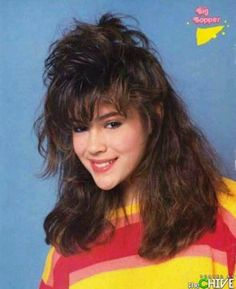Alyssa Milano....My daughter was in Bop magazine with Alyssa and has the same first name